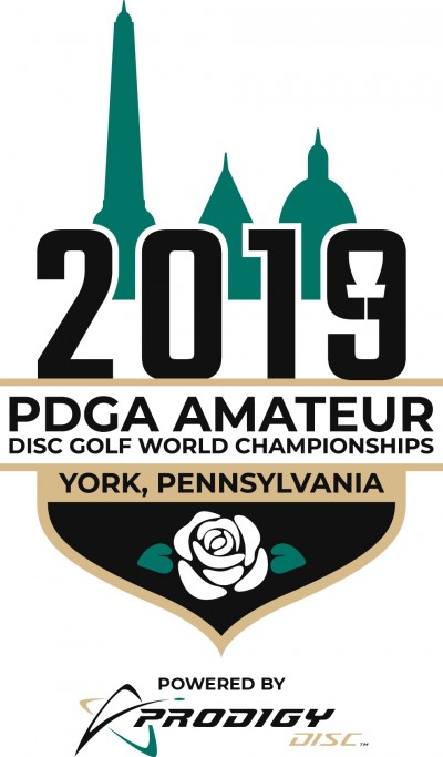2019 PDGA Amateur Disc Golf World Championships - Powered by Prodigy logo