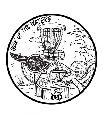 WAR of the WATERS Sponsored by Dynamic Discs logo