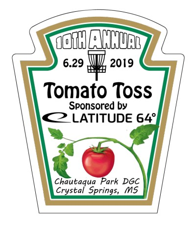 10th Annual Tomato Toss Sponsored by Latitude 64 logo