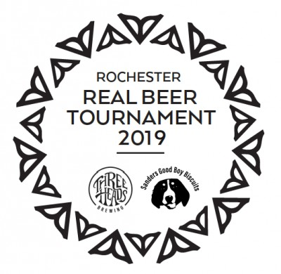 Rochester Real Beer Week Charity Tournament logo