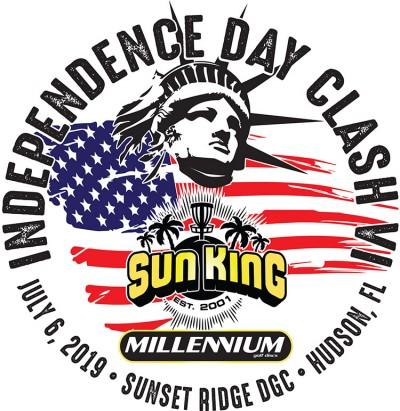 Sun King/Millennium present Independence Day Clash VII logo