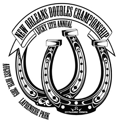 13th Annual New Orleans Doubles Championships Sponsored by Dynamic Discs logo