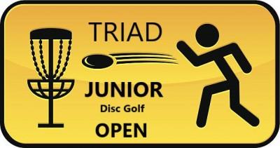 Triad Junior Disc Golf Open logo