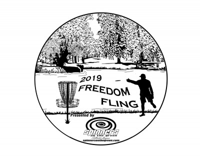 Freedom Fling presented by Spinners on the Green logo
