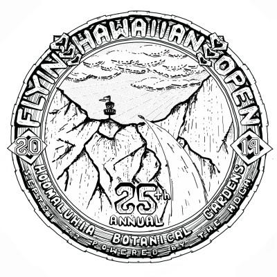 25th Annual Flyin Hawaiian Sponsored by MVP Discs logo