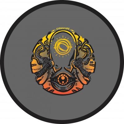 MVP Disc Sports presents GYROscope #3:  Red, White, and Blockhouse logo
