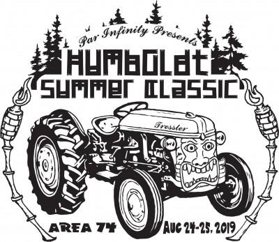 Latitude 64 and Par Infinity Present: The Humboldt Summer Classic logo