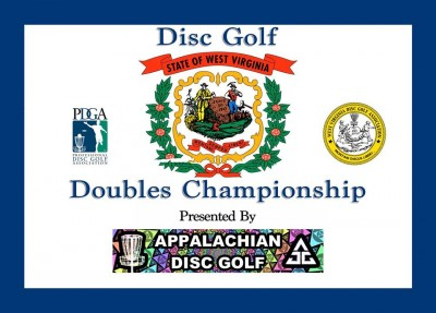 West Virginia Disc Golf Doubles Championship logo