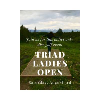 Triad Ladies Open logo