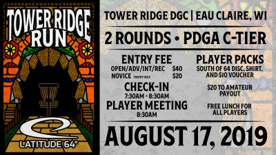 Tower Ridge Run presented by Latitude 64 & CVDGO logo