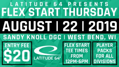 Sandy Knoll Flex Start C Tier presented by Latitude 64 logo