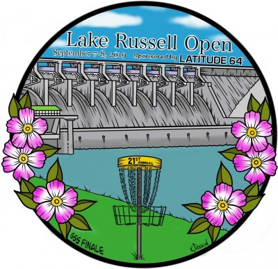 21st Annual Lake Russell Open sponsored by Latitude 64, GSS Finale logo