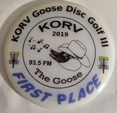 KORV Goose Disc Golf Days III logo