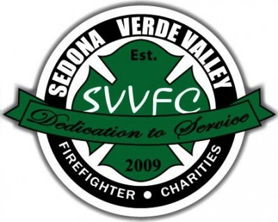 Sedona-Verde Valley Firefighter Charities Riverfront Rip by Mount Hope Foods & Innova Champion Discs logo