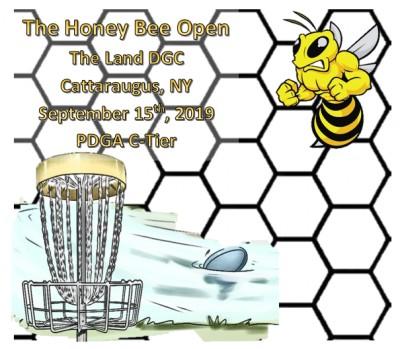 The Honey Bee Open logo