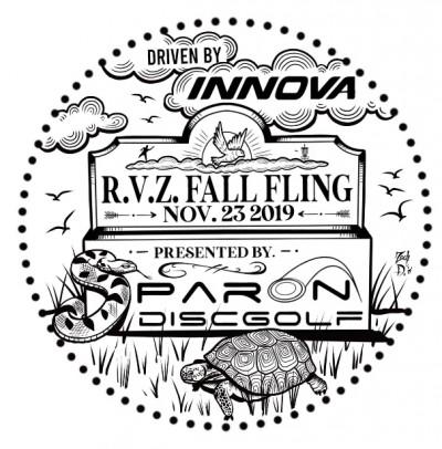 Par On Disc Golf presents R.V.Z Fall Fling logo