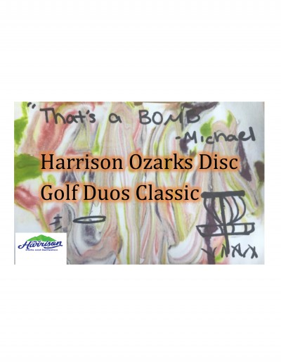 Harrison Ozarks Disc Golf Duos Classic Driven by INNOVA logo