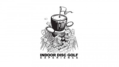 INDOOR DISC GOLF EXPERIANCE -Eau Glow Throw edition- Ace Race - Powered by Prodigy Disc logo