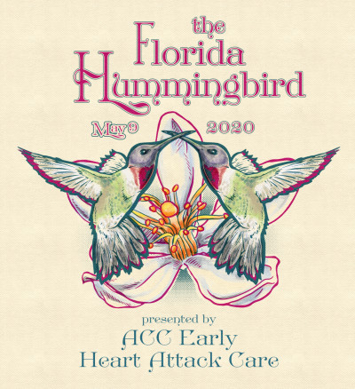 2021 Florida Hummingbird (WGE) Presented by ACC Early Heart Attack Care logo