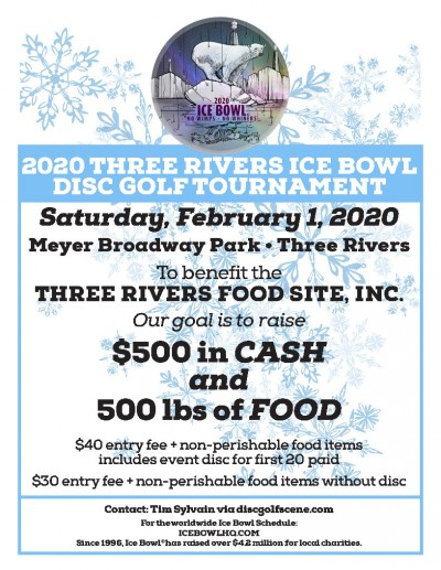 2020 Three Rivers Ice Bowl logo