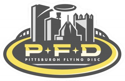 The 2020 Professional Pittsburgh Flying Disc Open Driven by Innova logo
