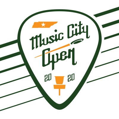 2020 Music City Open Presented by Dynamic Discs - National Tour (FPO and MPO only) logo