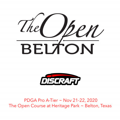 The Open at Belton presented by Discraft logo
