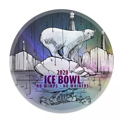 2020 IDGC Ice Bowl logo