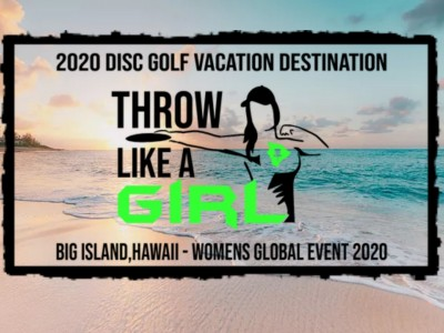 Throw Like A Girl - Hawaii (WGE 2020) logo