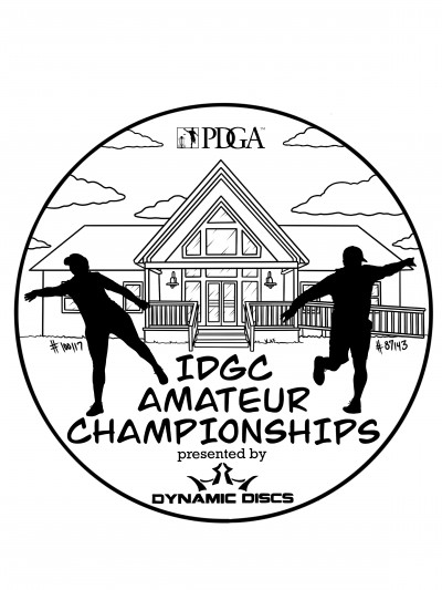 2020 IDGC Amateur Championships presented by Dynamic Discs logo