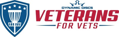 MDGE Presents Veterans for Vets by Dynamic Discs logo