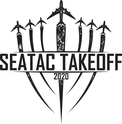SeaTac Throwback logo