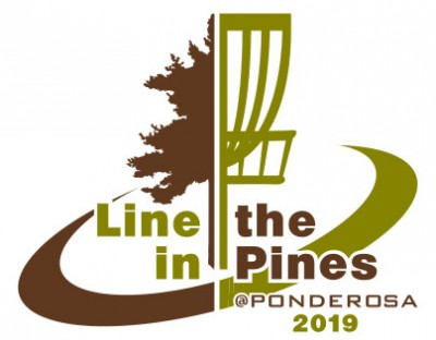 Line in the Pines Sponsored by Dynamic Discs Juniors Event logo