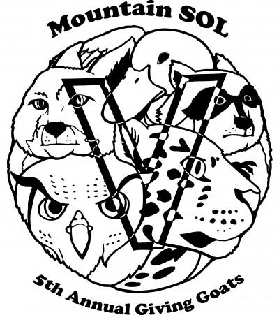 Giving Goats Fundraiser for Mountain SOL logo