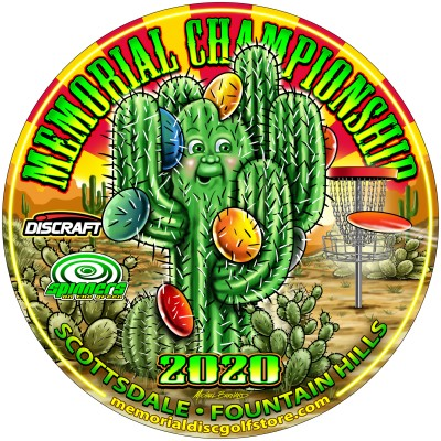 Memorial Championship presented by Discraft - 40+ Pro & Amateurs logo