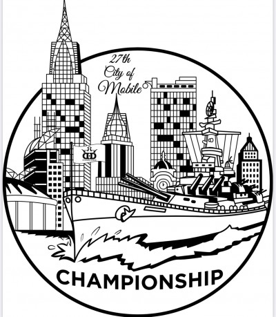 27th Annual City Of Mobile Championship Presented by Dynamic Disc logo