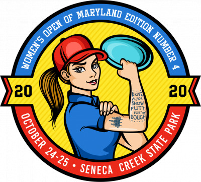 Women's Open of Maryland Edition Number 4 logo