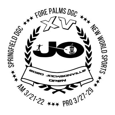 2020 Jacksonville Open - AMs sponsored by Westside Discs logo