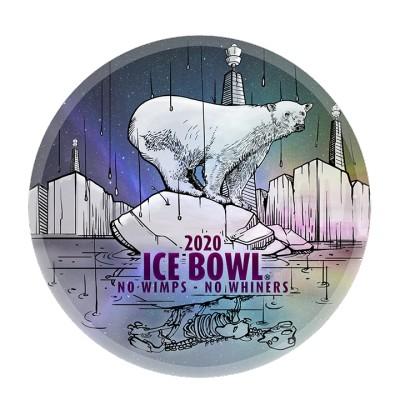 2020 Rocklin IceBowl logo