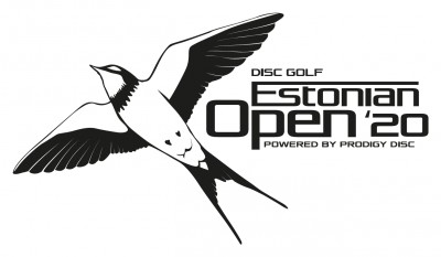 Estonian Open 2020 powered by Prodigy Disc logo
