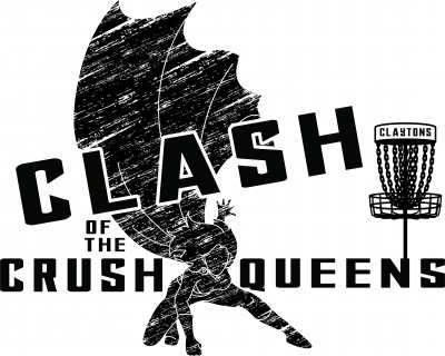 Clash of the Crush Queens - Presented by Smoky Mountain Discs - A Throw Pink Event logo