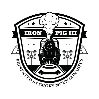 Iron Pig III - Presented by Smoky Mountain Discs logo