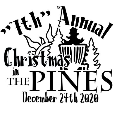 """7th"" Annual Christmas in the Pines logo"