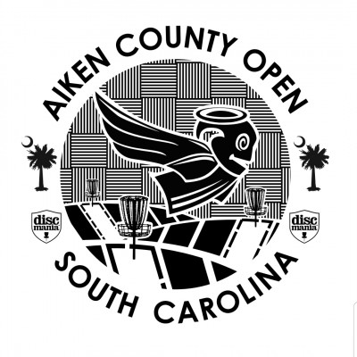 Aiken County Open presented by Discmania logo