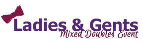 2021 Ladies & Gents Mixed Doubles presented by Throw Pink & Disc Baron logo