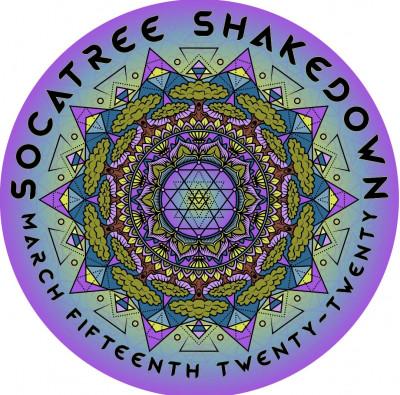SocaTREE Shakedown logo
