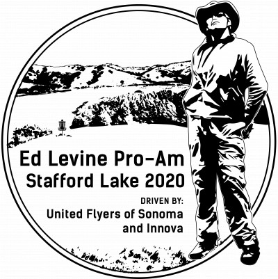 Ed Levine Inaugural Pro Am Tournament at Stafford Lake Driven by the UFOS and Innova logo