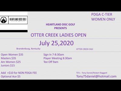 Otter Creek Ladies Open logo