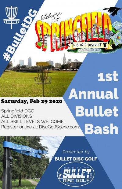 1st Annual Bullet Bash logo