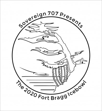 Sovereign 707 Presents The Fort Bragg Icebowl logo